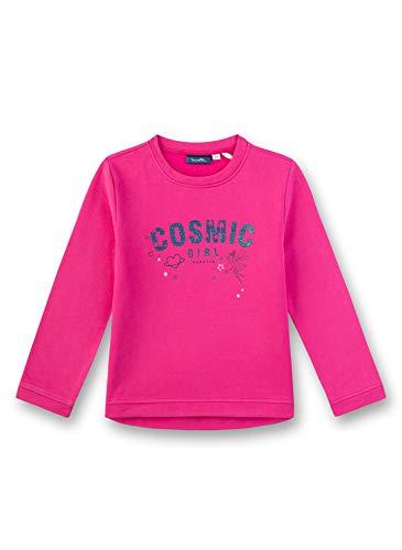 Sanetta Mädchen Sweatshirt, Rosa (Candy 3561), 92 (Herstellergröße: 092)