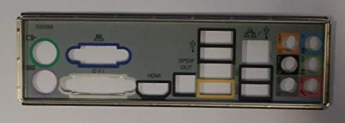 Gigabyte GA-MA78GM-S2H Blende - Slotblech - IO Shield