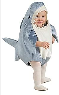Rubie's Costume Co Unisex-Child Deluxe Shark Romper Costume, Gray, Toddler