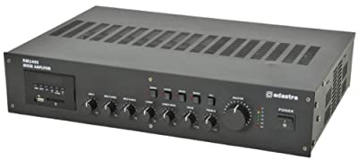 Adastra Rm240s Usb + Sd 5 Ch Pa Mixer Amplifier 240w Rms 100v / 8 Ohm (953.112)