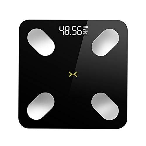 Skyeen Smart Health Scale Báscula de Peso Corporal LCD Báscula de Grasa Corporal Báscula de baño IMC Medición de Masa Muscular Soporte Conexión de la APLICACIÓN