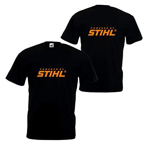 Stihl Inspired Super Premium - Camiseta de 100% algodón, diseño arborista