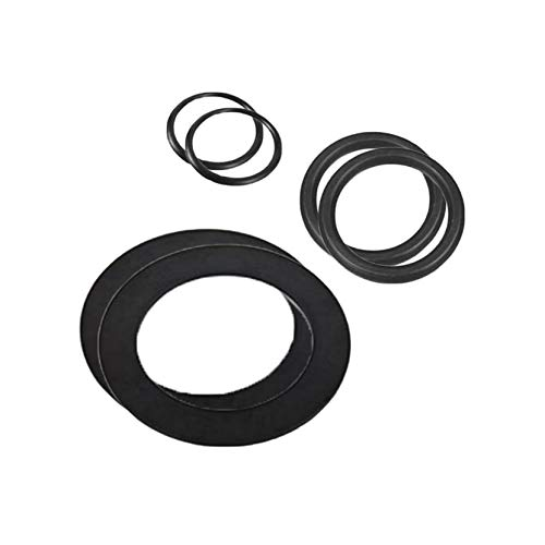 Intex Large Strainer Rubber Washer and Ring Pack Replacement Parts (2 Pack)