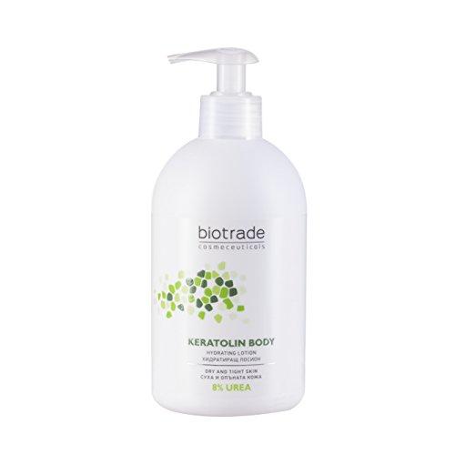 Keratolin Body with 8% Urea procure à la peau une hydratation immédiate pendant 24 heures et un soulagement des symptômes de la peau sèche, tendue, prurigineuse et écailleuse.