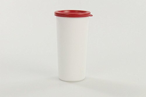 TUPPERWARE Küchenhelfer Joghurt-Becher rot weiß Dose Joghurt