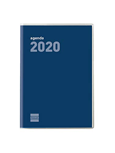 Finocam Planner voor 2020, weekoverzicht, plat, cocktail, blauw