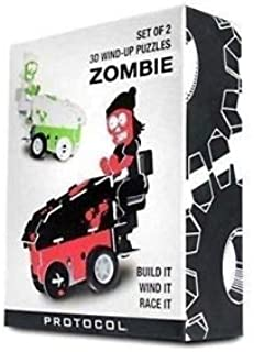 PROTOCOL 3D Wind-up Puzzle Zombie on Ice