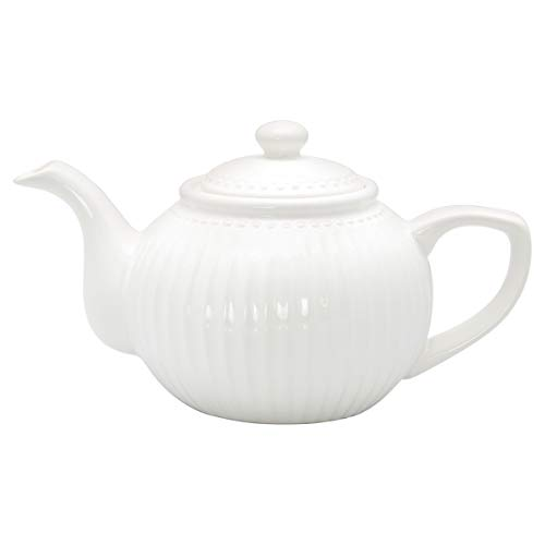 GreenGate- Teekanne -Alice White - STWTEPAALI0104
