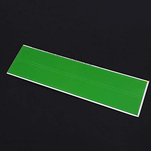 SALUTUYA Colores Brillantes y Hermosos 12PCS Fácil de almacenar y Usar Hecho de Adhesivo de Flecha de Pegamento para neumáticos, Amantes del Tiro con(Green)