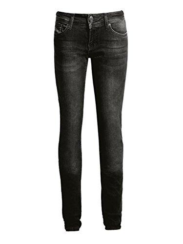 John Doe Motorrad Hose Pants Betty High Jeans Black-W30-L34-XTM