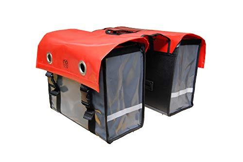 No-one volwassenen dubbele tas volwassenen, meerkleurig, één maat, 62205