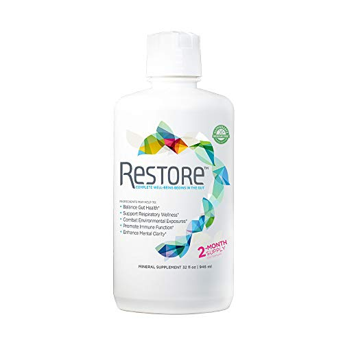Restore Promotes Gut-Brain Health | Dr. Formulated - Probiotic & Enzyme Alternative – for Digestive Health, Mood, Weight Loss & Energy Boost, Immune Support, Stress Relief | 2-Month Supply