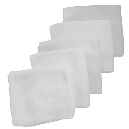 White Microfiber Face Cloth & B…