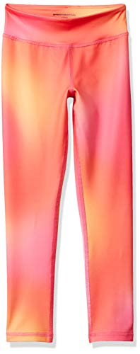 Amazon Essentials Legging de sport long pour fille, Ombre Pink, US 2T (EU 92-98)