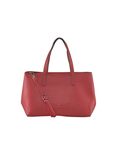 TOM TAILOR Damen Taschen & Geldbörsen Shopper Marla red,OneSize