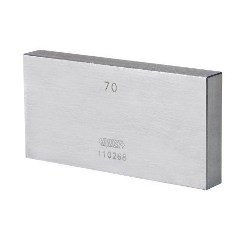 INSIZE 4101-B13 - Bloque de acero para engranajes (grado 1, con certificado de inspección, 13 mm)