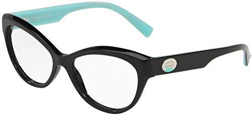 Tiffany Brillen Gafas de Vista RETURN TO COLOR SPLASH TF 2176 BLACK 53/15/140 Damen