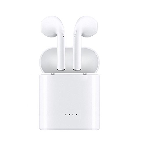 Bluetooth Headphones,Wireless Headphones Bluetooth Mini In-Ear Headsets Sports Earphone with 2 True Wireless Earbuds for Apple iphone X/8/7/6/6s plus Android, Samsung