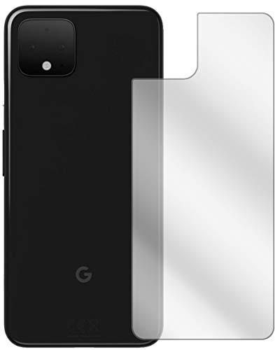 Ecultor I 3X Schutzfolie kompatibel mit Google Pixel 4 XL Rückseite Bildschirmschutz-Folie Klar (bewusst Kleiner als das Glas, da Dieses gewölbt ist)