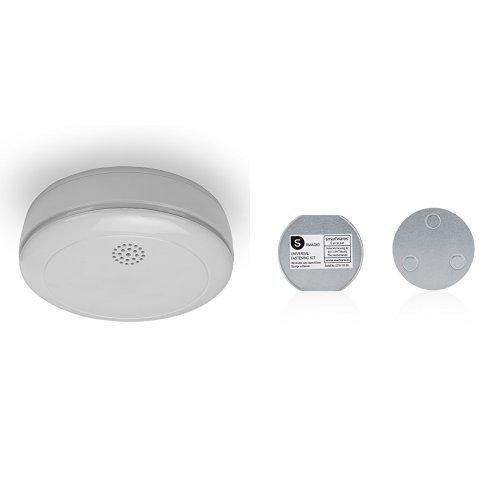 2 Stück Smartwares 10-Jahres Rauchmelder  +  2 Stück Magnetbefestigung