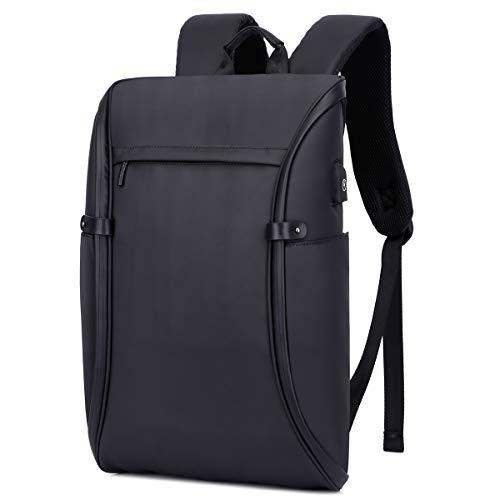 Backpack for Men, KISSUN 15.6 inch Super Slim Laptop Backpack Men Anti Theft Backpack Waterproof College Backpack