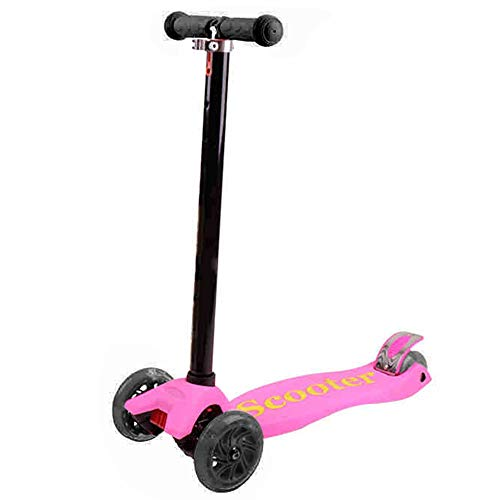 Best Price YUMEIGE Kick Scooters Kick Scooter with Double Rear Wheel Adjustable Height Commuter Scoo...