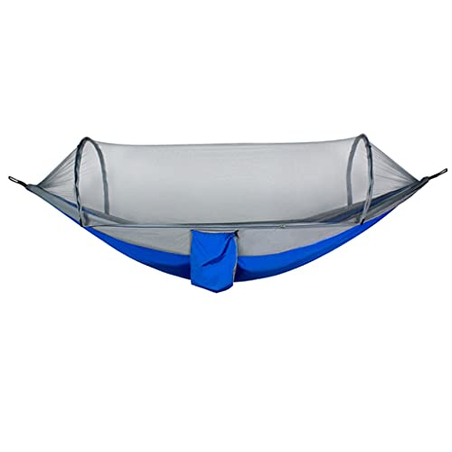 QUETW Amaca Amaca con Net ed Equilibrio Spreader Bar Paracadute Tessuto Tessuto Amaca per Viaggi per Campeggio all aperto Camping Backpacking Travel Escursionismo Cotone