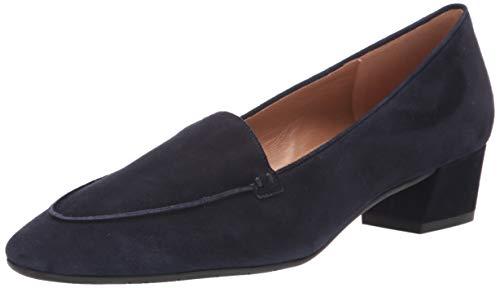 Aquatalia Women's Loafer, Navy, 6 M US