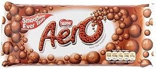 Nestle Aero Milk Chocolate Bar-pack 4 Bars