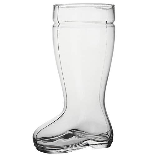 2 Liter Beer Boot Glass Set - Oktoberfest Beer Boots - Set of 2 - MyGift