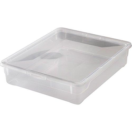 """Rotho Aufbewahrungsboxen """"Clear Box"""", APPMYBOX,mit QR-Code,Box von 5-22 Liter mit Deckel (1x9Liter)"""