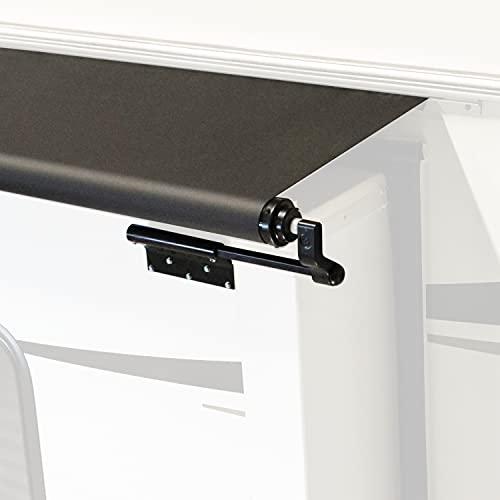 Solera Black Slide Topper Awning - 13'6' (13'1' Fabric)
