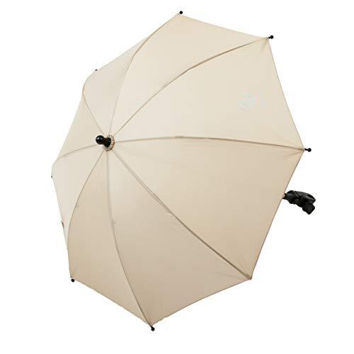 AltaBeBe AL7000 -03 Parasole per Passeggino con Protezione UV, Diametro: 70 cm, Beige