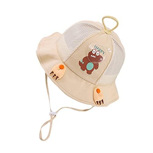 ABOOFAN Sombrero de Playa con Forma de Cocodrilo Y Protección Solar para Niños
