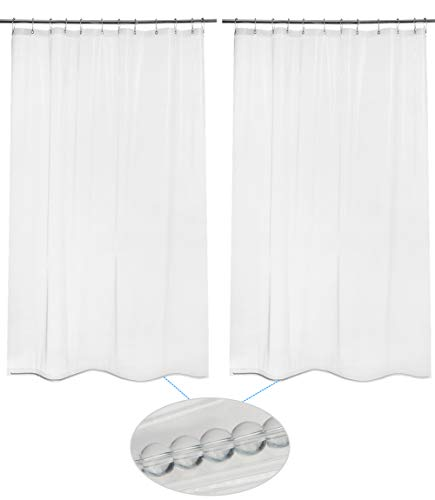 shower curtain liner with weights - 6