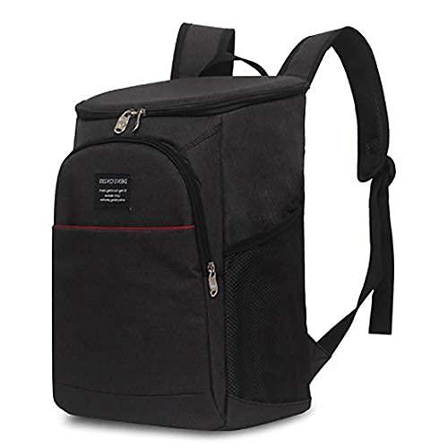 Anjing Cooler Mochila aislada bolsa grande lonchera Picnic a prueba de fugas kit para negro