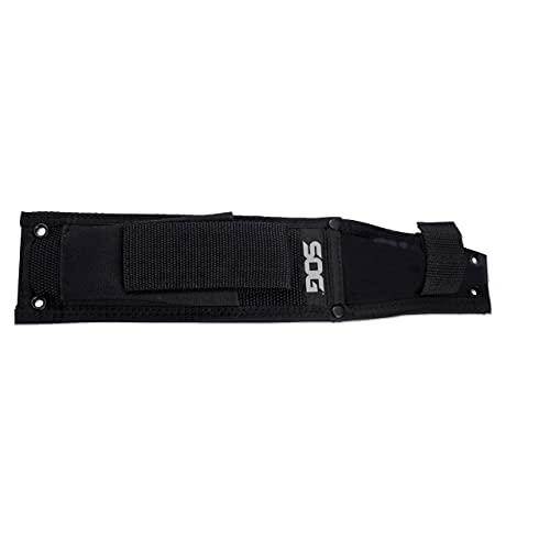 SOG Black Ballistic Nylon Fixed Blade Knife Sheath MOLLE Compatible Cuchillo