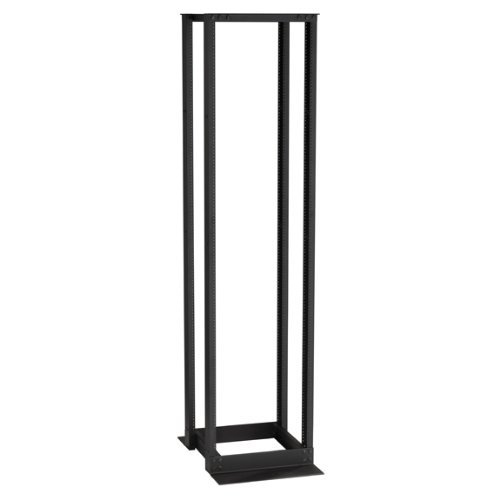 "Black Box 45U 4-Post Flex Depth Rack 24.25"" W x 17.72 to 41.34"" D M6 Mount"