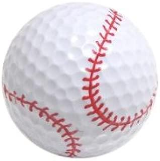 Baseball Golf Balls (Pack of 6)