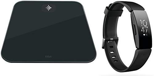 Fitbit Aria Air Analysewaage Wägebereich (max.)=150kg Schwarz Mit Fitness-Tracker