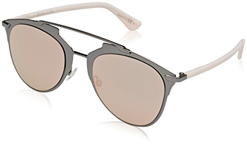 Dior DIORREFLECTED 0J XY2 Gafas de sol, Rosa (Dkruth Pink/Grey Rose Gd Grey Speckled), 52 para Mujer