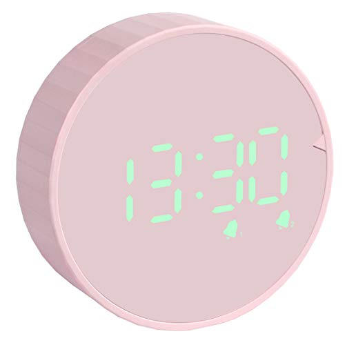 SOCICO Wecker Digital Kinderwecker Digitaler Reisewecker mit LED Temperatur,Datum,12/24 HR,Küchentimer Magnetisch Countdown