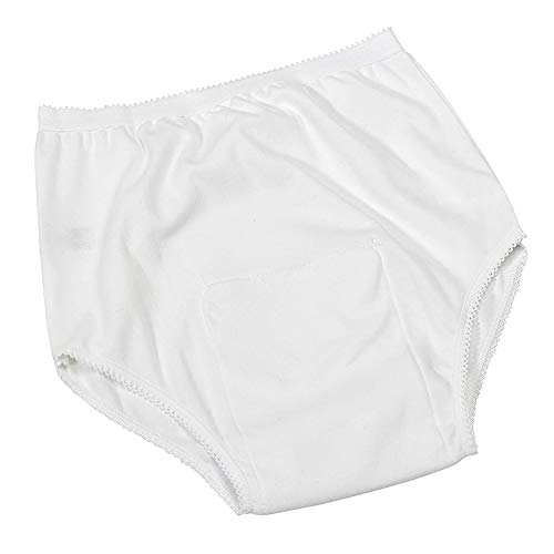 SHKY Damen-Beutel-Inkontinenz-Hosen EIN PC, Damen-schützende wasserdichte Hosen/Schlüpfer für doppelte Inkontinenz-Sorgfalt,XXL