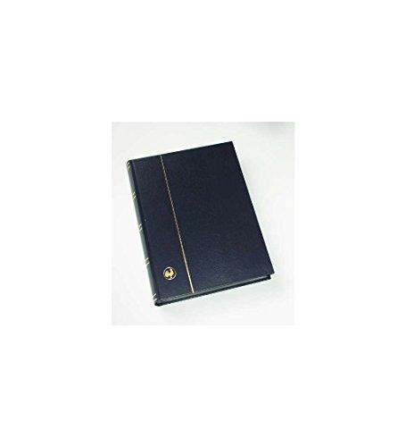Goldhahn 60 weiße Seiten blau Einsteckbuch Einsteckalbum Briefmarkenalbum wattierter Einband