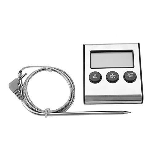 Termómetro termopar resistencia a altas temperaturas YS05 Termómetro grados Celsius y Fahrenheit para cocina