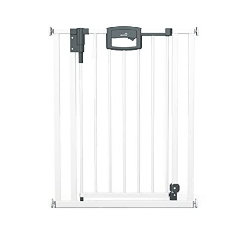 Geuther EASYLOCK Plus 4791+, Barrière de Sécurité pour Portes 68 cm, Blanc