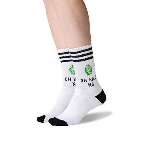 Hot Sox Oh Kale Damen Socken - weiß - Medium