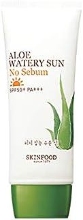 Skinfood アロエ水っぽい太陽なし皮脂SPF50 + PA +++ / Aloe Watery Sun No Sebum SPF50+ PA+++ 50ml [並行輸入品]