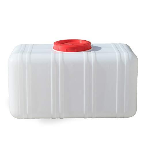 Almacenamiento de agua Tanque Gran Capacidad Recipiente de Agua Grueso Cuadrado sin BPA para emergencias de Campamento al Aire Libre, etc. Capacidad 25L, 30L, 50L, 75L ZLINFE (Size : 50L)
