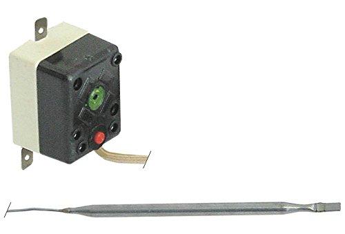 TECASA Sicherheitsthermostat für Fritteuse Fimar SF9, SF99, FT8RN, SF9N, SF99N, FT8, FT88, VEGA 81064, 81065, CHEF 240°C 1-polig